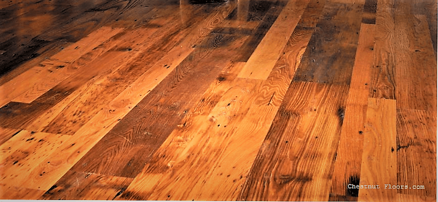 Reclaimed Hardwood Flooring Chestnut